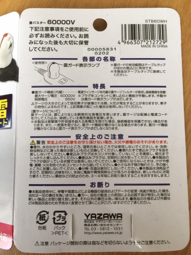 雷バスター60000V_YAZAWA _001