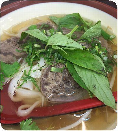 越南美食館牛肉フォー