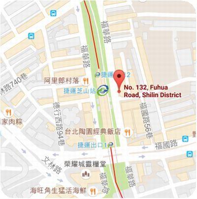 越南美食館地図