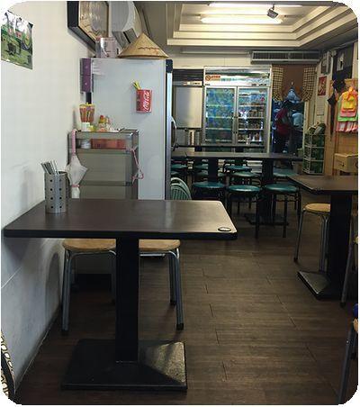 越南美食館店内