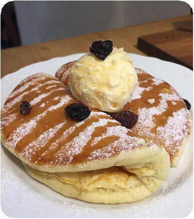 澳氏咖啡パンケーキ