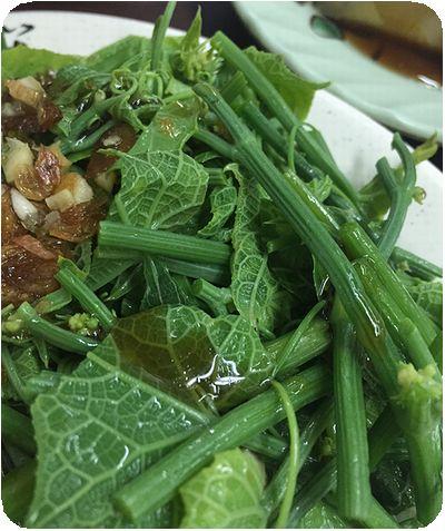 天津街米苔目青菜