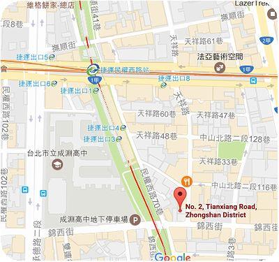 北港李餐飲地図