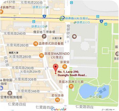 Mee's Cafe地図