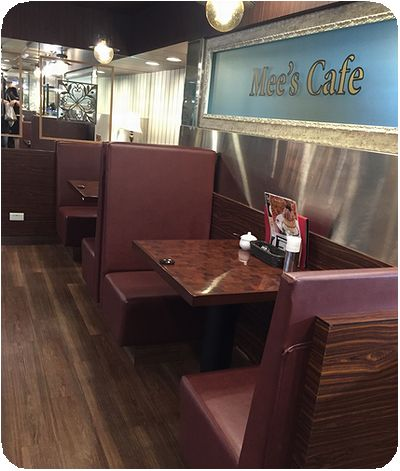 Mee's Cafe店内
