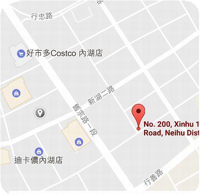 ERC Cafe 地図
