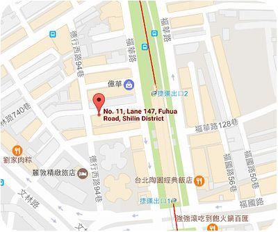 吉田坊地図