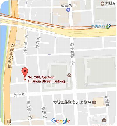 永興農具工廠地図