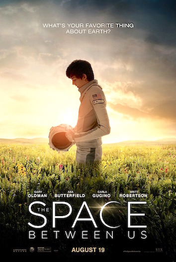 Space Between Us Poster