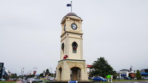 ニュージーランドFeildingのクリスマス