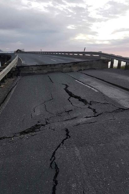 ニュージーランドの地震