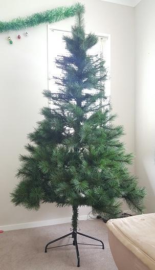 我が家のクリスマスツリー2016-01