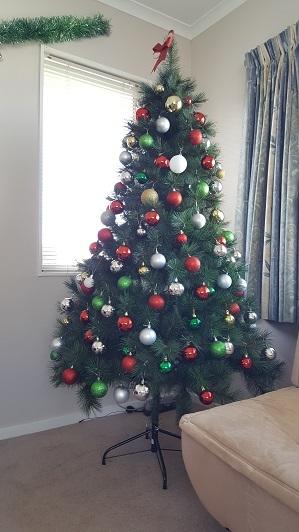 我が家のクリスマスツリー2016-02