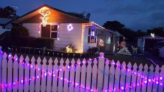 ニュージーランドFeildingのクリスマスライトコンテスト2016-06
