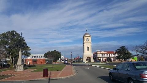 お年寄りに優しい町、ニュージーランドのFeilding01