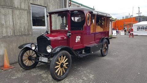 ニュージーランドFeildingの蒸気機関車基地オープンデー03