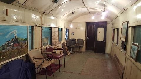 ニュージーランドFeildingの蒸気機関車基地オープンデー11