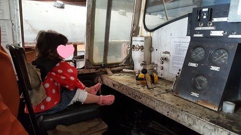ニュージーランドFeildingの蒸気機関車基地オープンデー14