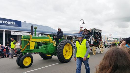 ニュージーランドFeildingのクリスマスパレード2016_04