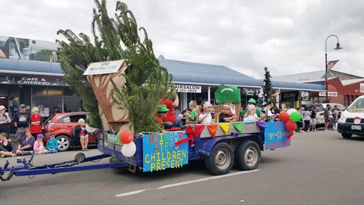 ニュージーランドFeildingのクリスマスパレード2016_08