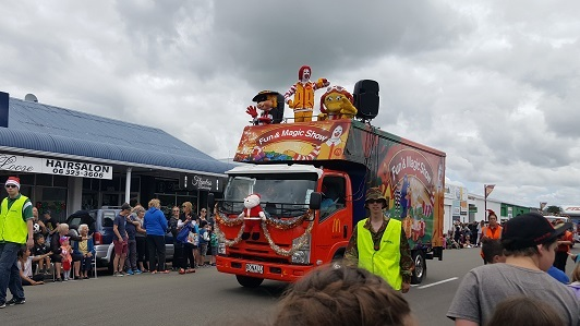 ニュージーランドFeildingのクリスマスパレード2016_11