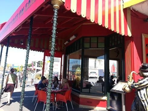 ニュージーランド・オークランドのカフェ「サーカス・サーカス」
