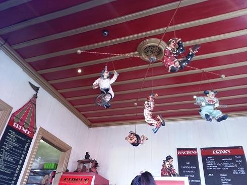ニュージーランド・オークランドのカフェ「サーカス・サーカス」02