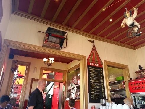ニュージーランド・オークランドのカフェ「サーカス・サーカス」03