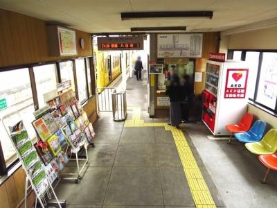 近江鉄道貴生川駅