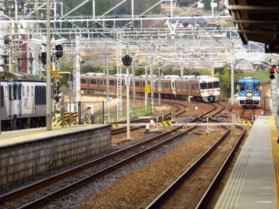 中央本線快速名古屋行き