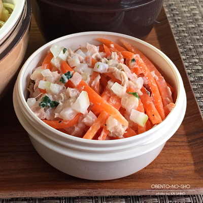 ベーコンと茸の柚子胡椒パスタ弁当03