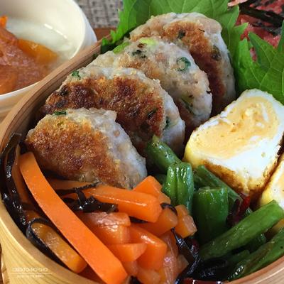 鶏の里芋焼き弁当02