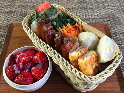 里芋の柚味噌和え弁当01