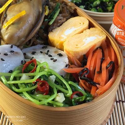 柚子牡蠣飯弁当03