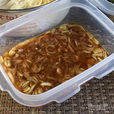 天体戦士サンレッドの3種つけ麺弁当03