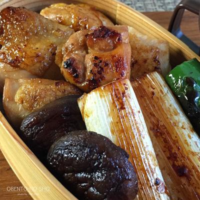鶏ねぎま(タレ)丼弁当02
