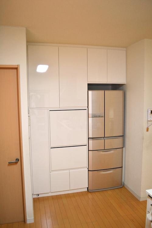 キッチン家電収納