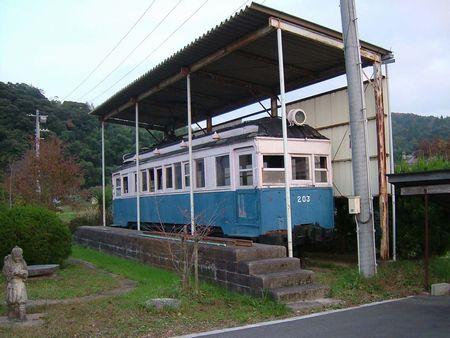 法勝寺鉄道デハ203