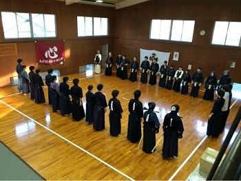 剣道部 OB戦2