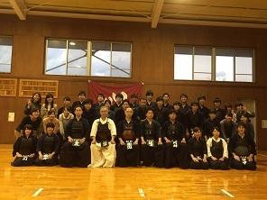 剣道部 OB戦7