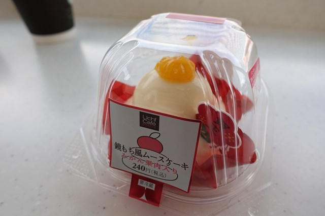 2 プレミアム紅白ロールケーキ&鏡もち風ムースケーキ (4)