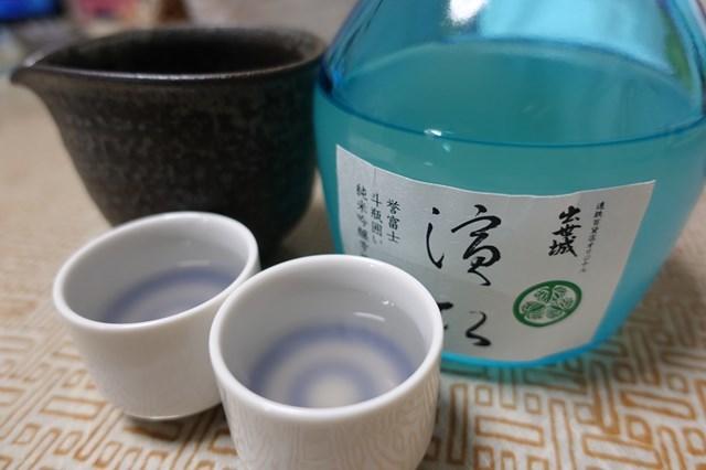 6 出世城 濱松 純米吟醸斗瓶囲い雫酒 誉富士 (6)