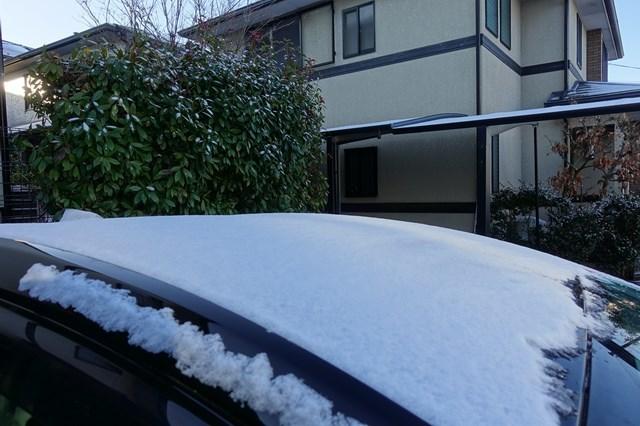 6 自宅 雪景色 (1)