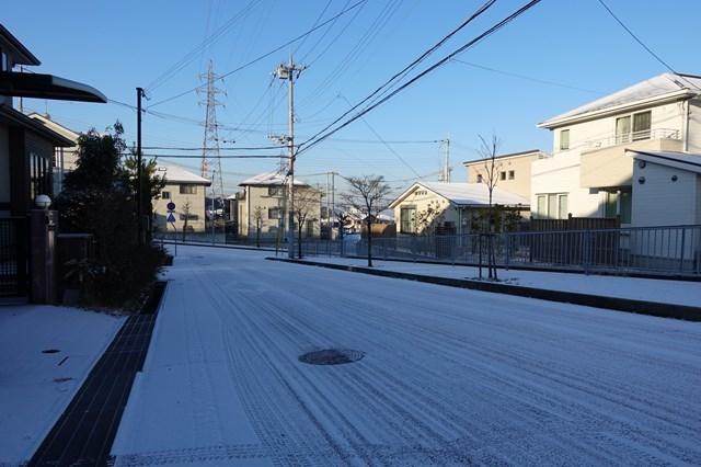 6 自宅 雪景色 (2)