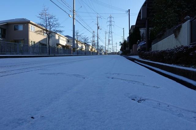 6 自宅 雪景色 (3)