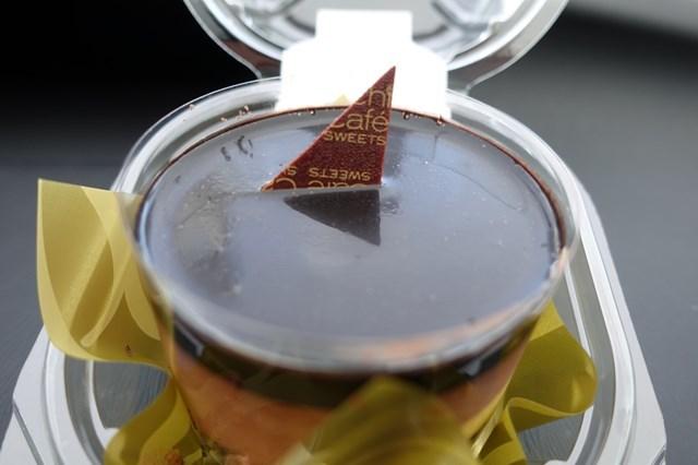 2 ベルガモット香るチョコレートケーキ&ひとくちチョコわらび餅 (5)