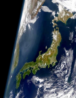 nasa_VIEW OF JAPAN