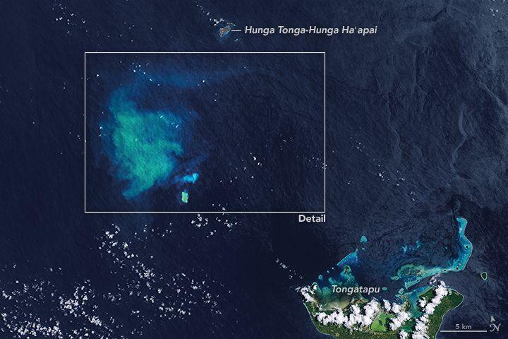 トンガで「海底火山」が噴火していたのを衛星で観測…コスタリカでは「トゥリアルバ火山」が活発化