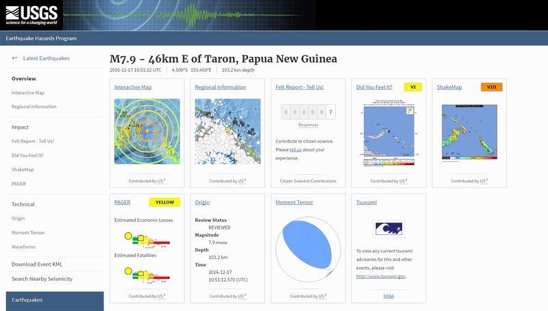 パプア・ニューギニア付近で「M7.9」の地震が発生…現地では最大3メートルの津波のおそれあり