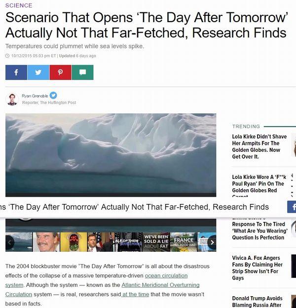 【スノーボールアース】地球はいきなり氷河期になり滅亡する…そして、海流は停止する!